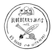 Blueberry Jams logo