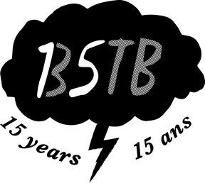 Blue Skies Turn Black 15th Anniversary Logo
