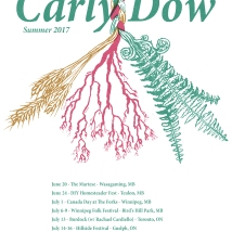 Carly-Dow-Summer-2017-tour-posterV2-web