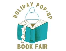 Holiday Pop Up Book Fair logo