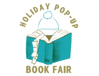 Holiday Pop Up Book Fair logo