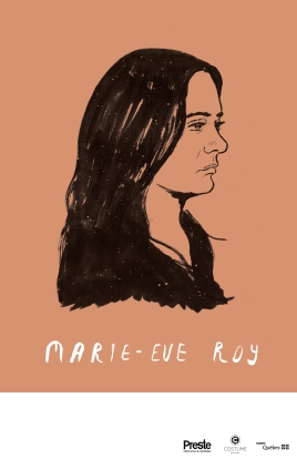 Marie-Eve Roy tour poster
