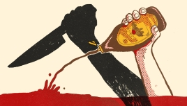 """The Gruesome History of Fake Blood in Hollywood"""