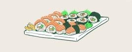 """Munchies: """"The Lazy Person's Guide to Eating Cheap, Sustainable Sushi"""""""