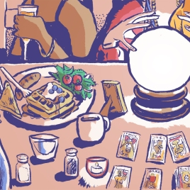 "Munchies: ""I Got My Future Read at a Psychic Brunch"""