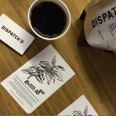 "Dispatch Coffee: ""Bean Zine"""